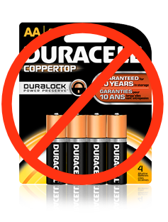 Duracell Batteries Leak!